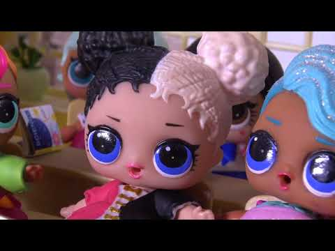 LOL SURPRISE DOLLS Morning Routine, Going To School And Playing At Recess! Lol Surprise Movie!
