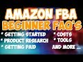 Amazon FBA Beginner Questions | Most Commonly Asked Amazon Questions