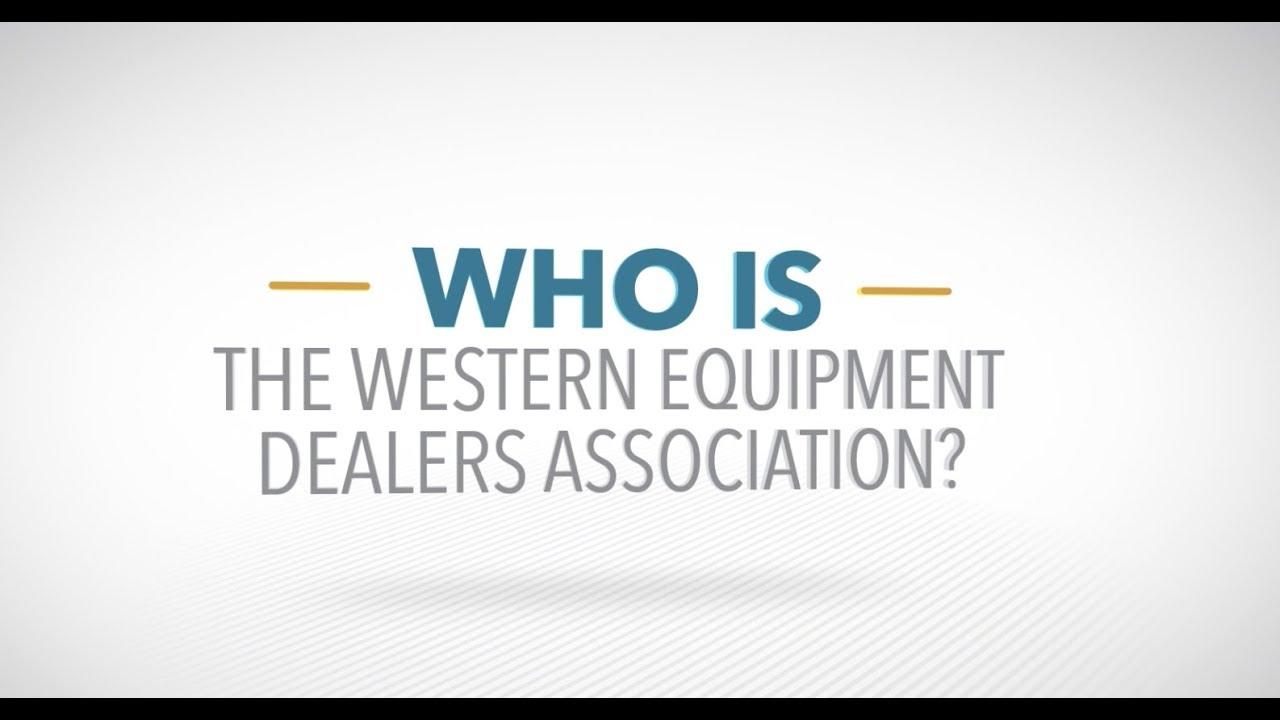 About WEDA | Western Equipment Dealers Association