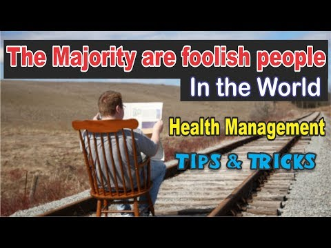 The Majority are foolish people In the World - Health Management By  Suleman Ahmer  Day2 Part-5