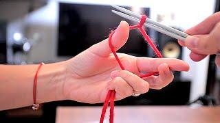 Как вязать спицами ОСНОВЫ часть 1 | рукавички манифтв