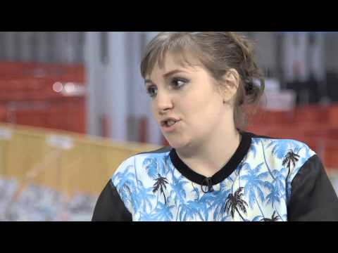 """An interview with Lena Dunham, author and """"font nerd"""""""