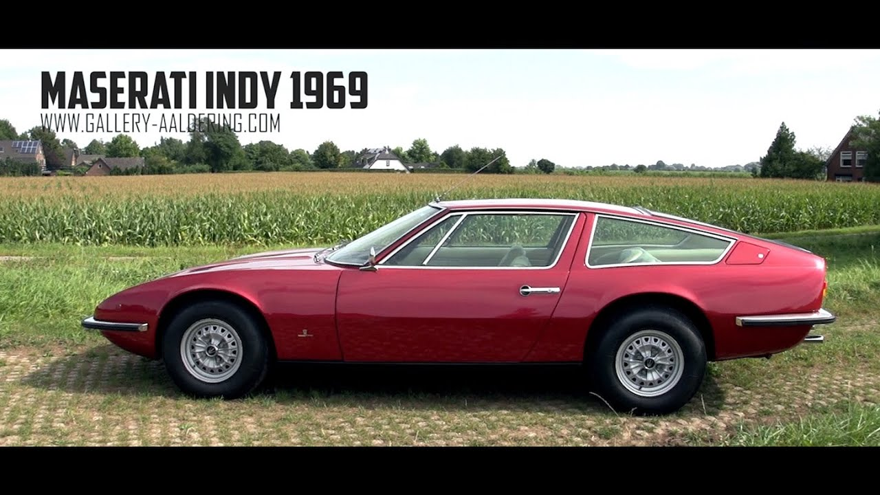 maserati indy 4200 - 1969 | gallery aaldering tv - youtube