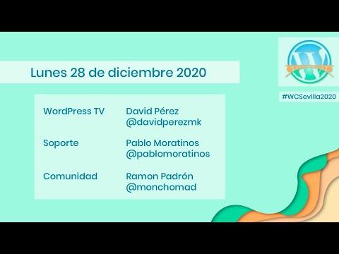 WordCamp Sevilla 2020 - Presentación del día 3