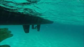 Outremer 45 underwater