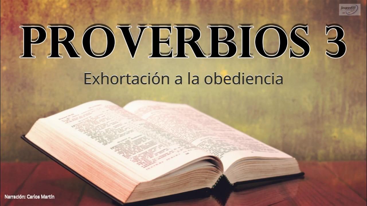 Proverbios 3   La Biblia Hablada   Capitulo completo
