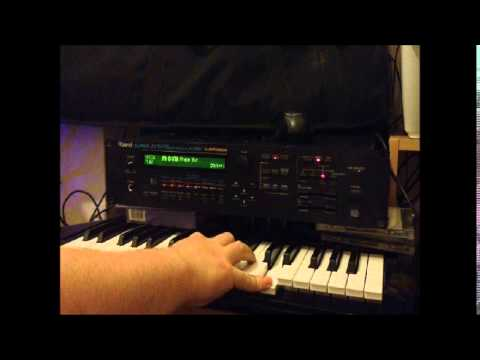 Roland JV 1080 - ALL 640 Sounds in 3 Hours !  Extended Demo