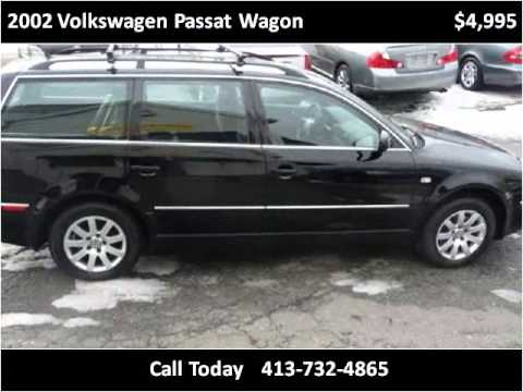 2002 Volkswagen Passat Wagon Used Cars Springfield MA