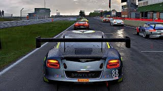 Project CARS 2 - Gameplay Bentley Continental GT3 @ Snetterton [4K 60FPS ULTRA]