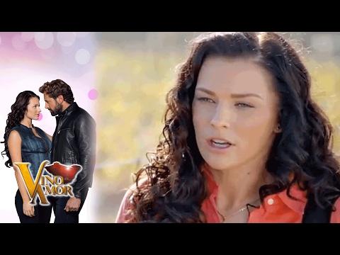 Luciana se va del viñedo de David | Vino el amor - Televisa