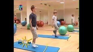Упражнения для укрепления мышц спины и рук для детей. Мастер класс для детей и родителей