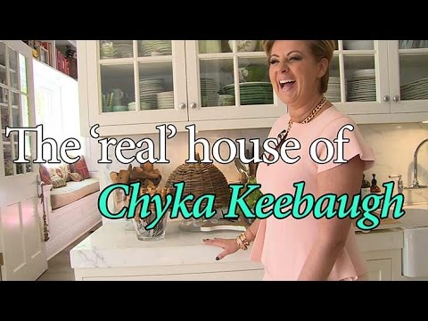 The real house of Chyka Keebaugh