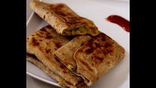 egg paratha recipe-how to make egg paratha or anda paratha-egg roti-egg chapati