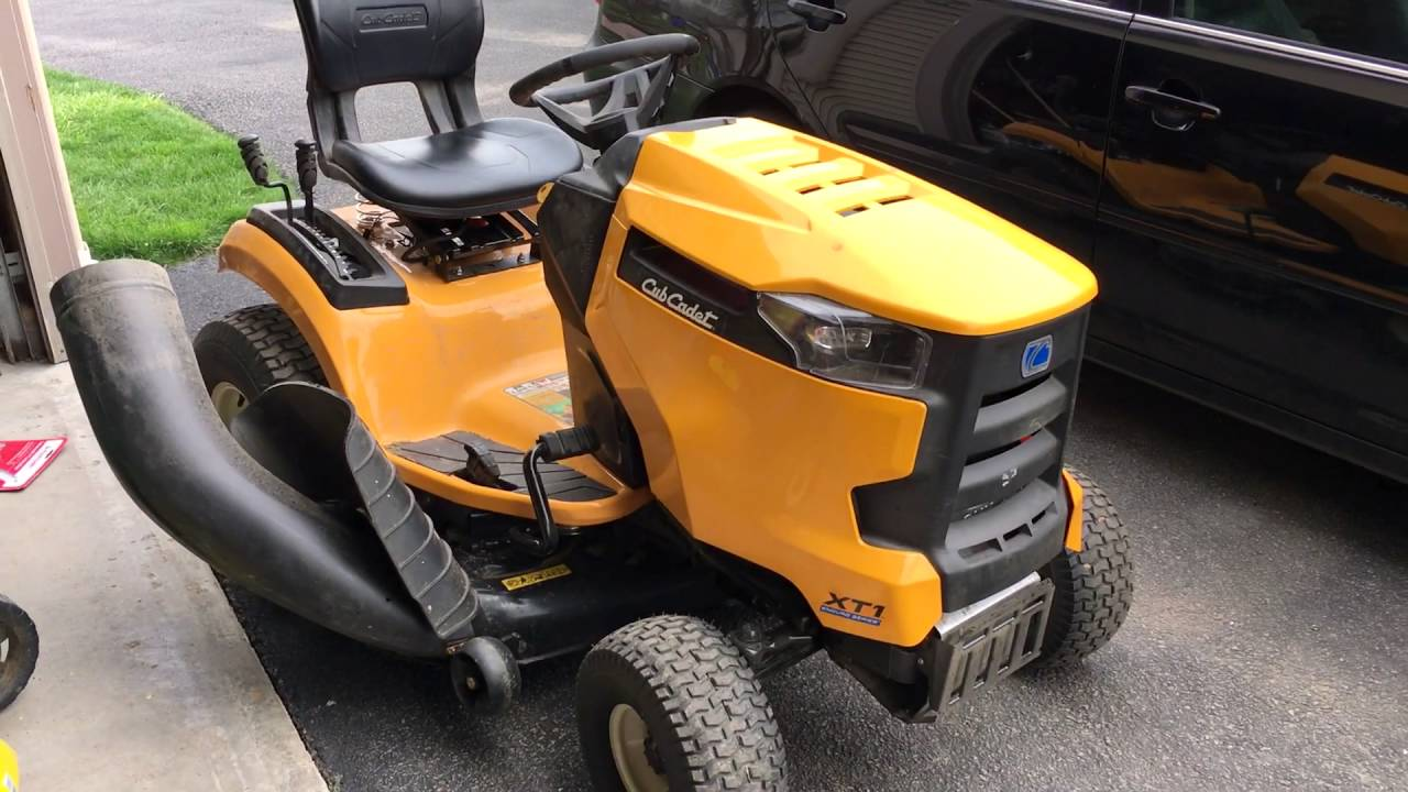 How to disable seat sensor in Cub Cadet XT1 Tractor Lawn MowerHack  YouTube