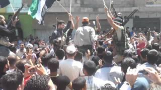 Kafar shams free army 11-5-2012