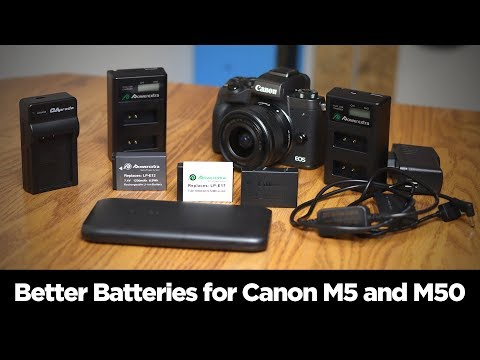How To Solve Canon EOS M5 And M50 Mirrorless Camera Battery Problems