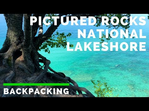 Pictured Rocks National Lakeshore [4K] (BACKPACKING)