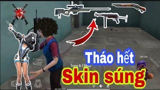 (Free Fire) Tháo hết skin súng, mon trình diễn khả năng hiếm có khó tìm