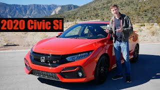 Review: 2020 Honda Civic Si Sedan