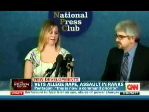 SWAN's Anu Bhagwati discusses Military Rape Litigation on CNN