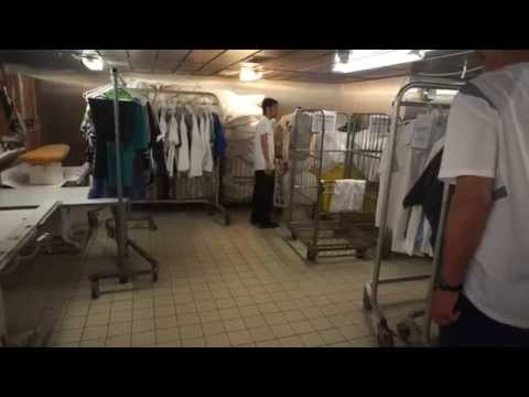 Turbo Clothing Steamer Quick Press on Cruise Ship