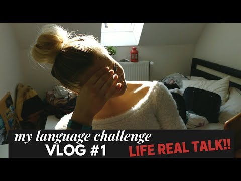 IS IT TIME FOR A CHANGE? MY LANGUAGE CHALLENGE - VLOG 1