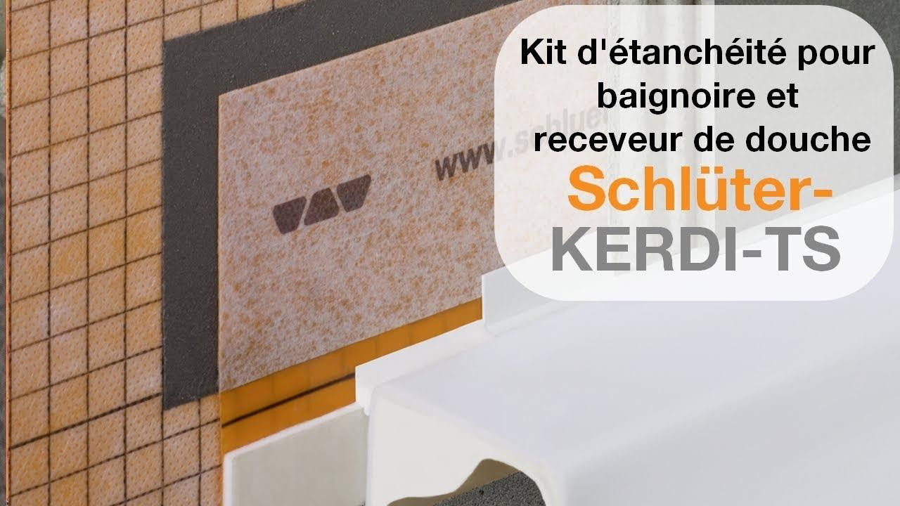 kit pour realiser l etancheite autour d une baignoire ou d un receveur de douche