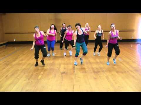 High energy fun Zumba routine to 'Runaway Baby' by Bruno Mars