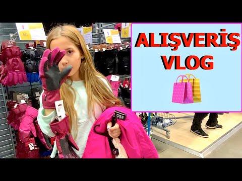 Soğuğa Dayanıklı Kıyafet Alışverişi Vlog. Ecrin Su Çoban