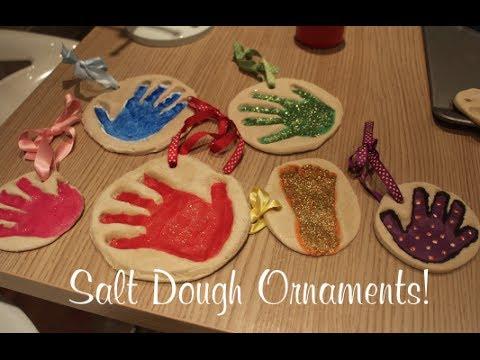 Salt Dough Ornaments   VLOGMAS DAY 23