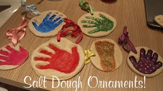 Salt Dough Ornaments | Vlogmas Day 23