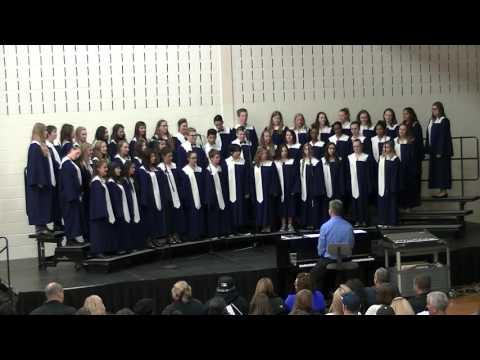 Drauden Point Middle School 8th Grade Choir Concert 2016-05-04 (1/4)
