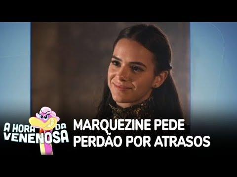 Bruna Marquezine se desculpa com equipe por atrasos