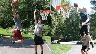 CRAZY DUNK CONTEST!!