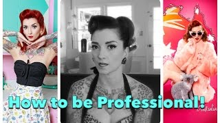 How to be a Pinup: Professionalism! by CHERRY DOLLFACE Thumbnail