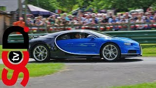 Bugatti Chiron Ride - Loud sounds