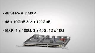 7500E Series 100GbE Options