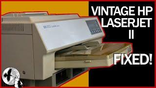 Classic 1980's HP LaserJet II Printer Restoration