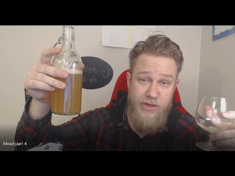Making your own Mead part 4 (bottling and taste test)