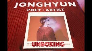 POET ARTIST - JONGHYUN - ALBUM UNBOXING
