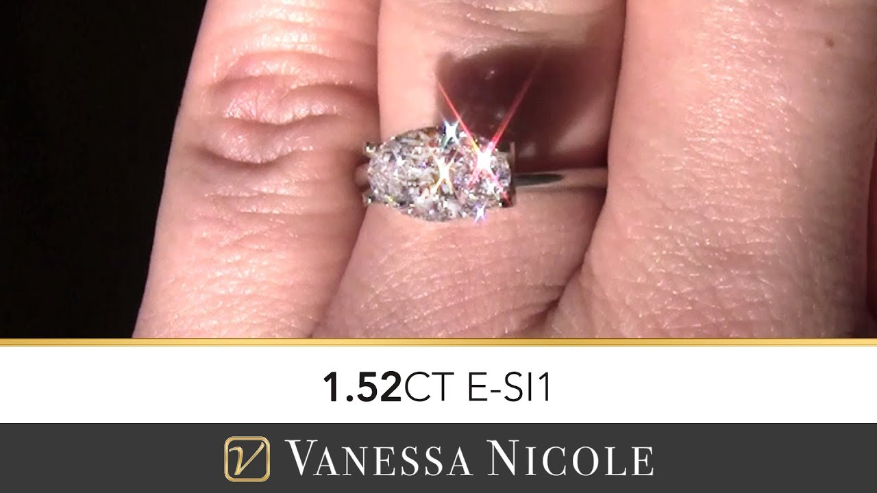 OVAL CUT DIAMONDS | See the Sparkle Factor from Direct Sunlight ...