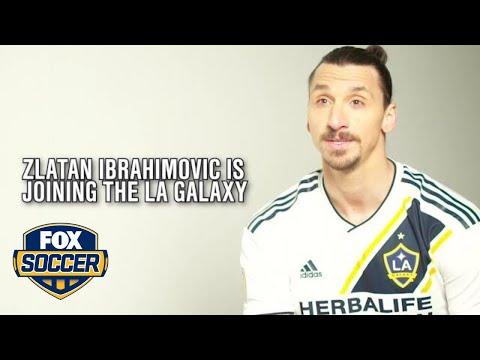 Zlatan Ibrahimovic signs for LA Galaxy | FOX SOCCER