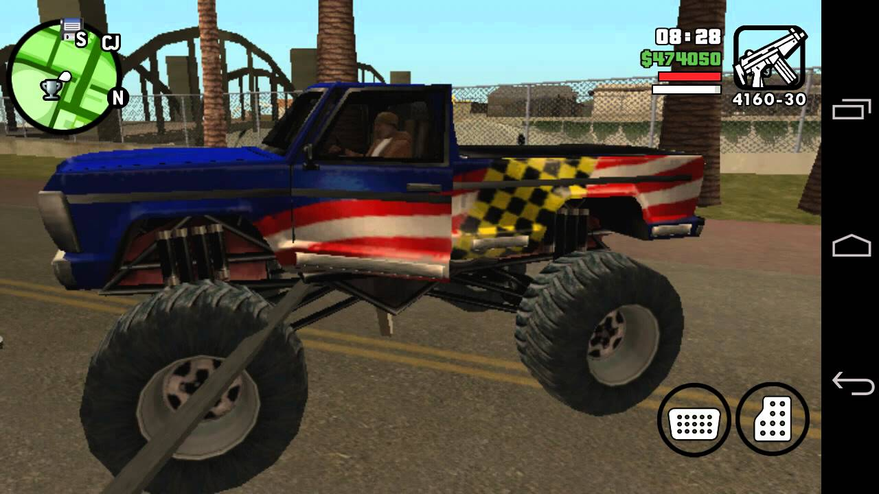 Gta San Andreas Glitch Monster Truck Android - YouTube