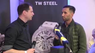 TW STEEL Sporttalk mit Manuel Fumic im Rahmen des Doppelspieltages MHPArena 21.02.2016