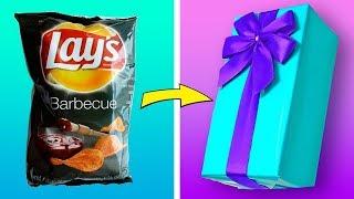 видео Как упаковать подарок: множество простых и красивых способов