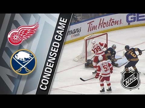 Detroit Red Wings vs Buffalo Sabres March 29, 2018 HIGHLIGHTS HD