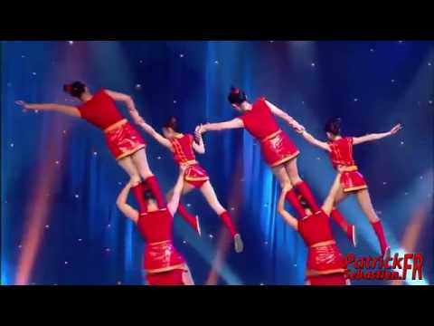 Chinese Acrobatics - Bicycles
