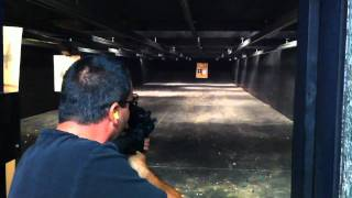 Firing an AR-15 Carbine Automatic with the Slide Fire Stock