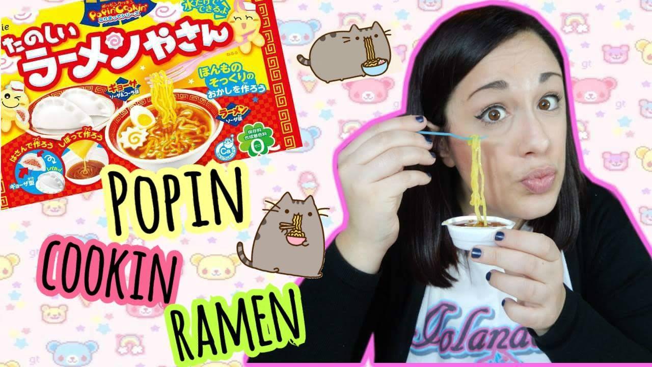 Popin cookin RAMEN Tutorial e Assaggio || Iolanda Sweets ...