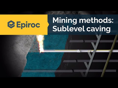 Sublevel Caving Mining Method - Epiroc
